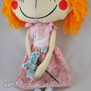 anolinka - ręcznie szyta lalka z duszą - dziewczynka, sukienka