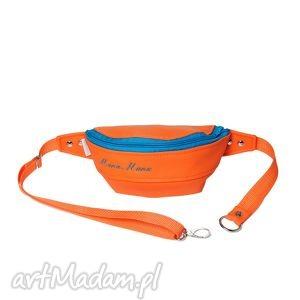 Nerka orange turq, rekodzielo, modna, wygodna, pojemna, na-wycieczkę, na-rower