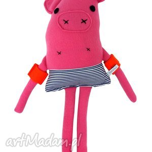 Przytulanka Świnka, maskotka, zabawka, przytulanka, świnka, dziecko
