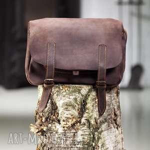 handmade pomysł na prezent pod choinkę skórzana torba ręcznie