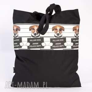 prezent na święta, siatka z psim motywem, siatka, torba, zakupy, pies, psy torebki