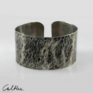 kamień - metalowa bransoleta 200611-01, bransoletka, bransoleta
