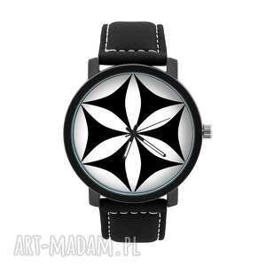 ludowelove zegarek męski z grafiką rozeta góralska, góralski, lokalny, ludowy