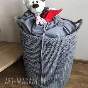 """Kosz stojący """"big bag lux kosze knitting factory na zabawki"""