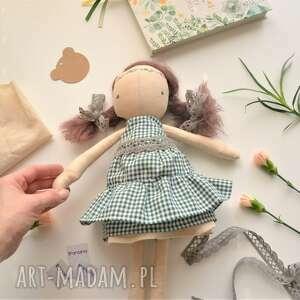 lalka przytulanka szyta ręcznie - lalka minimalistyczna prosta lalka