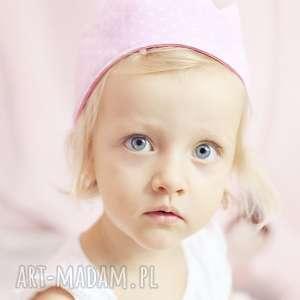handmade dla dziecka korona dla dziecka mały jubilat (różowy)