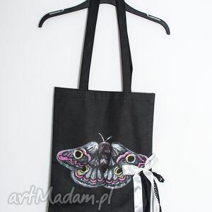 na zakupy eco torba ćma zakupy, notatki, różności, torba, ekologiczna, eco