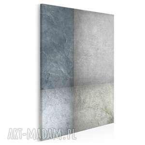 obraz na płótnie - abstrakcja beton w pionie 50x70 cm (35503)