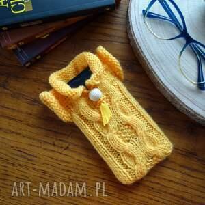 oryginalny prezent, dziane sweterek na smartfona, telefon, smartfona