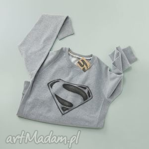 bluzy superman sweatshirt, bluza, nadruk