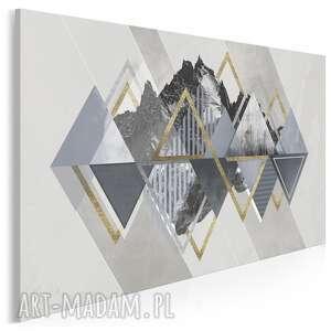 vaku dsgn obraz na płótnie - złoty góry skandynawski 120x80 cm 97401