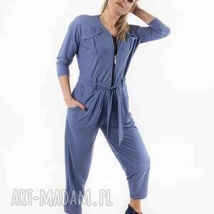 Kombinezon blue fantazja spodnie trzyforu spodnie, dres, płaszcz