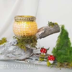 """Pomysł na upominek święta! Świecznik """" na saneczkach"""" z kolekcji"""