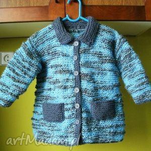 kurteczka ciepły kubraczek - sweterek, ciepły, rękodzieło