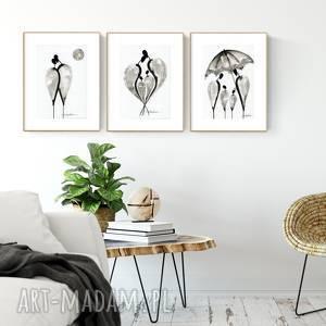 Zamówienie 3 grafiki z cyklu relationships minimal art