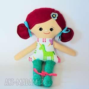 lala bella - zosia 42 cm, lalka, jednorożec, dziewczynka, bajka, roczek, bezpieczna