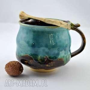 kubek ceramiczny j1, kubek, naczynie, ceramika, użytkowe, unikatowe, spożywcze