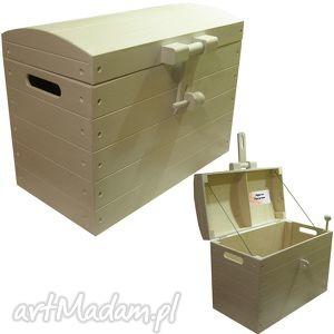 Kufer z dedykacją 48x25x35cm pudełka pracownia inspirnet kufer