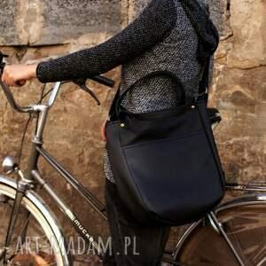 miniks vege czerń - torba, torebka, vegan, vege, rower