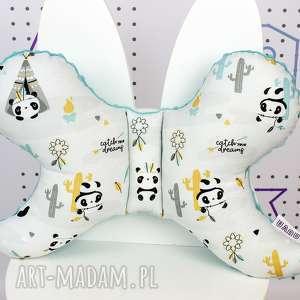 dla dziecka motylek - poduszka antywstrząsowa panda, poduszka