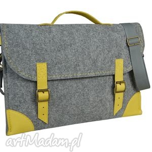 ręcznie robione filcowa torba na laptopa - szyta miarę różne kolory