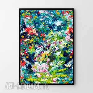 plakaty plakat obraz abstrakcja #2 50x70 cm