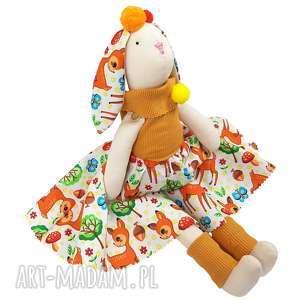 handmade maskotki przytulanka króliczek