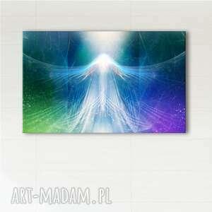 obraz energetyczny - uwolnienie wydruk na płótnie, obraz, wolność, anioł