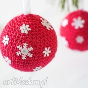 pomysł na świąteczne prezenty Zestaw 2 bombek choinkę, bombka, święta, choinka