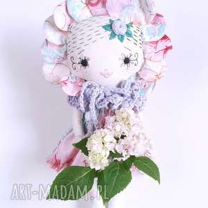 Lalka hiacynta lalki madika design lalka, kwiaty, eko, haft