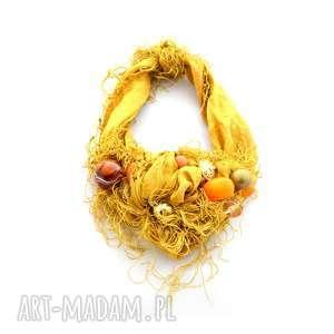 handmade naszyjniki sunflower naszyjnik handmade