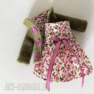 ZESTAW UBRANEK, ubranka, zabawka, sukienka, płaszczyk, lalka, dziecko