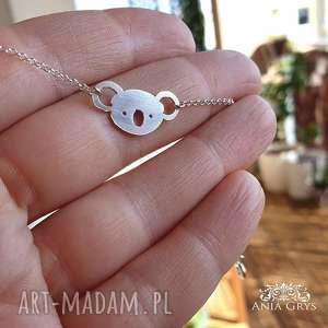 unikalny, koala, bransoletka, srebrna, aniagrys, miś