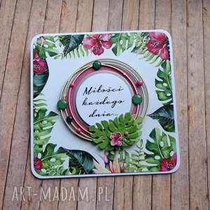 Egzotycznie życzenia kartki cynamonowe życzenia, ślub, urodziny