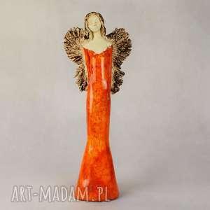 ręczne wykonanie ceramika anioł ceramiczny