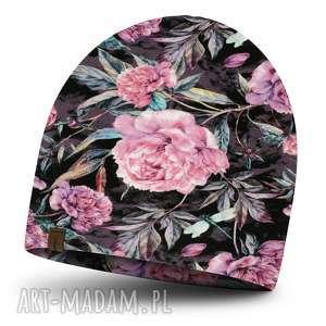 handmade czapki jesienna czapka dla dziewczynki, podwójny ateriał, ciepła