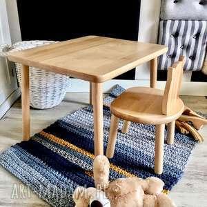 Stolik i krzesełko dla dzieci pokoik dziecka wnetrze z gustem