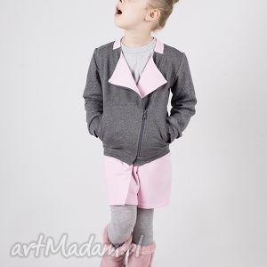 kurtka dk01g tito, ramoneska, zamek, bawełniana, kurtka, narzutka, bluza ubranka