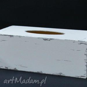 chustecznik - pudełko na chusteczki shabby chic, chustecznik, pudełkonachusteczki