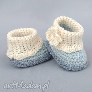 botki surrey, buciki, botki, kozaczki, wełniane, dziecko, niemowlę dla dziecka