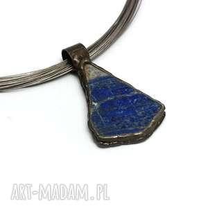 handmade naszyjniki lapis lazuli