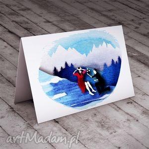 Zaręczyny... kartka okolicznościowa, ślub, kartki, góry, miłość, zakochani, życzenia