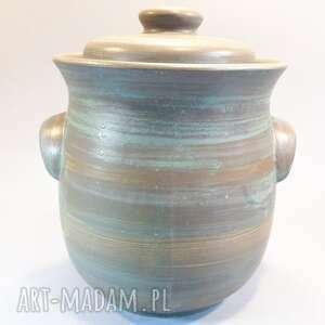 Garnek hermetyczny do kiszenia warzyw ceramika vrs ceramics