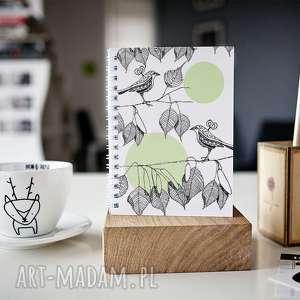 notesy notes a5, notes, skoroszyt, zeszyt, ptaki, natura