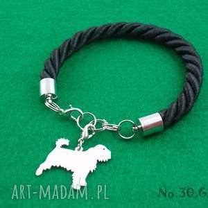Prezent Bransoletka gryfonik pies nr.30, bransoletka, pies, prezent, rękodzieło