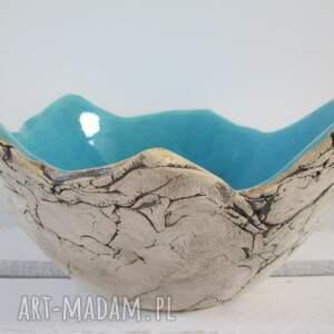 Prezent Sardynia artystyczna miska rozmiar M, miska-ceramiczna, dekoracyjna-miska
