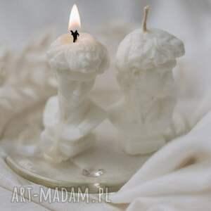 handmade dekoracje świeca sojowa dawid mini 4