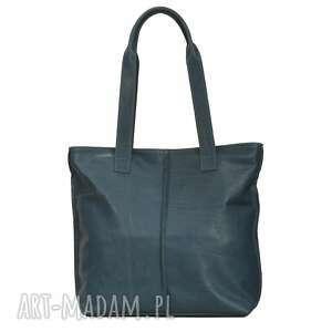 duża torba, worek ze skóry licowej 2605, torebka, prezent, duża, wygodna