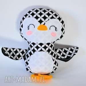 Pingwinek tomek maskotki motylarnia pingwinek, pingwin, dziecko
