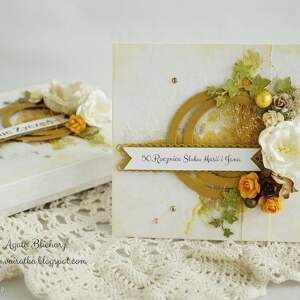 Złote Gody - kartka w pudełku (na zamówienie)